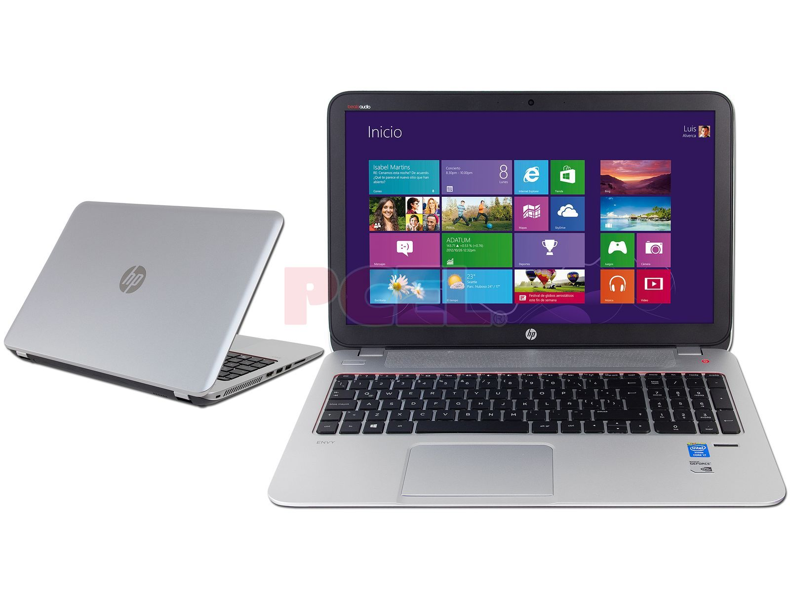 Laptop HP Envy 15: Procesador Intel Core i7-4700MQ (2.4 GHz) 4ta ...