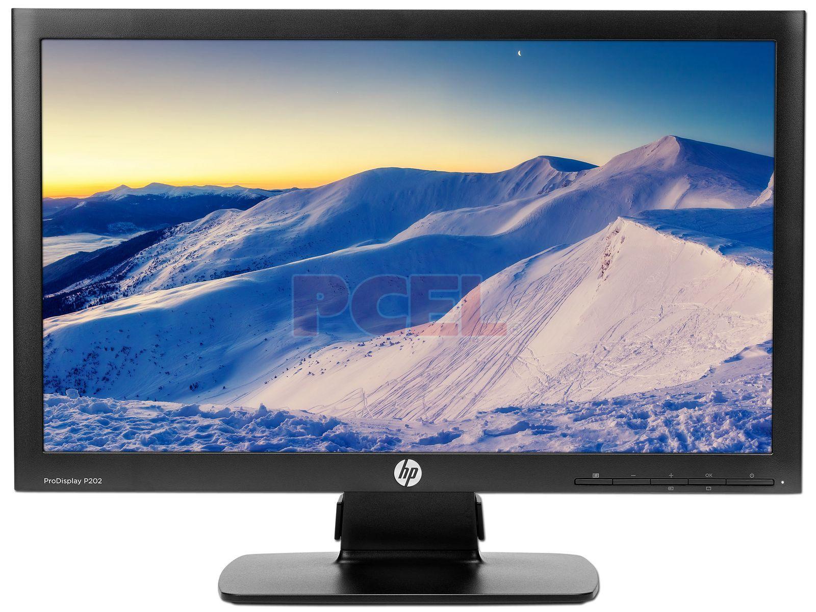 Monitor LED HP P202 de 20