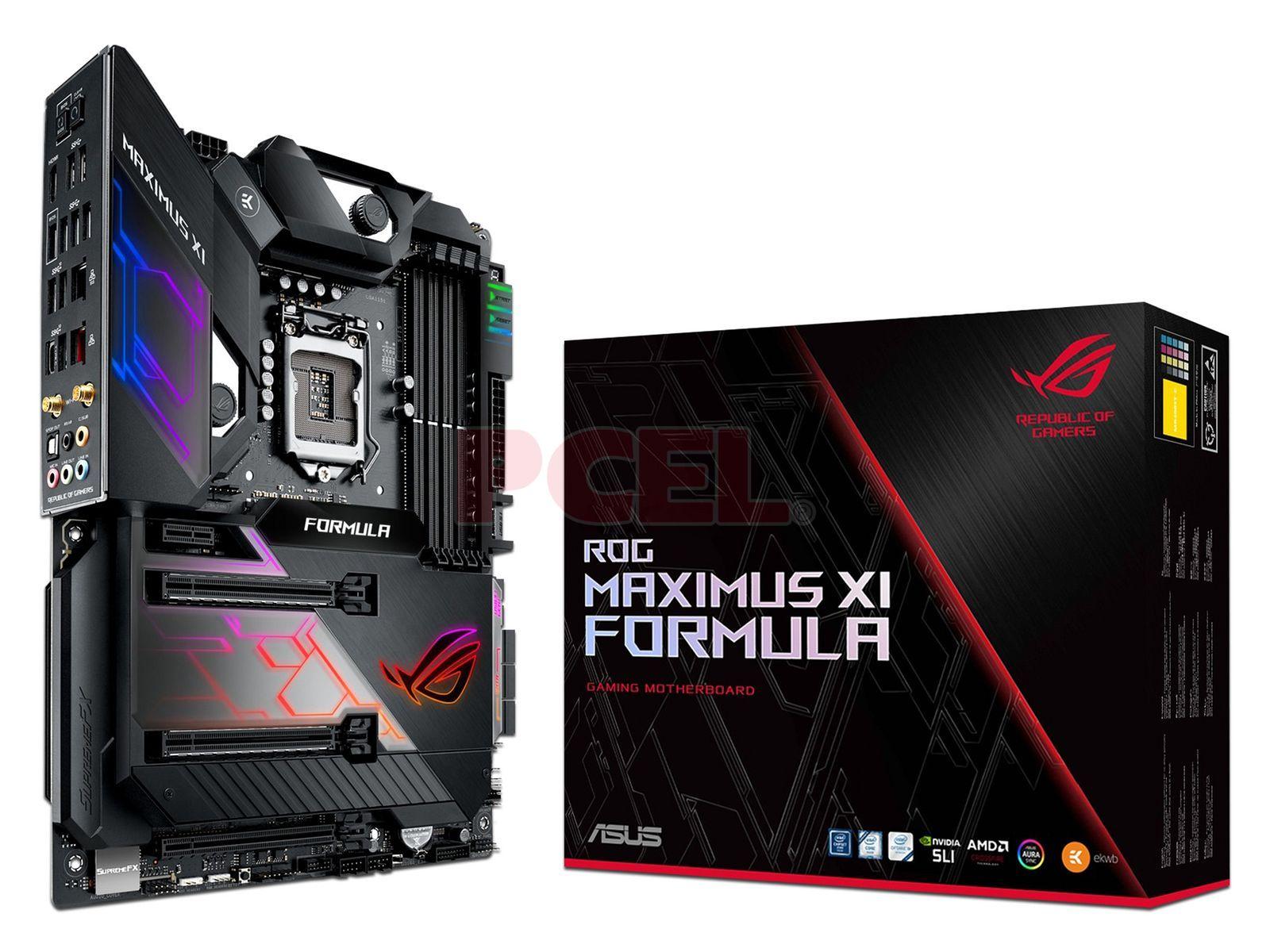 T  Madre ASUS ROG MAXIMUS XI FORMULA, Chipset Intel Z390