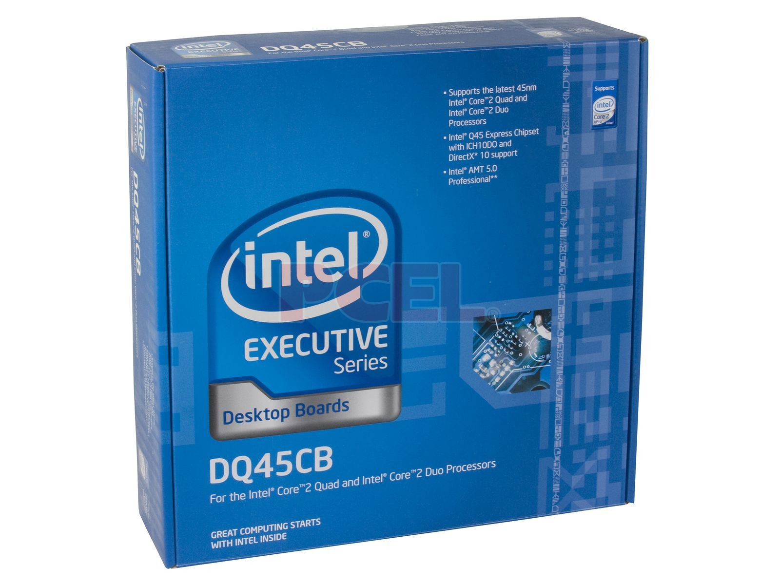 T  Madre Intel DQ45CB, ChipSet Intel Q45 Express, Soporta: Core 2