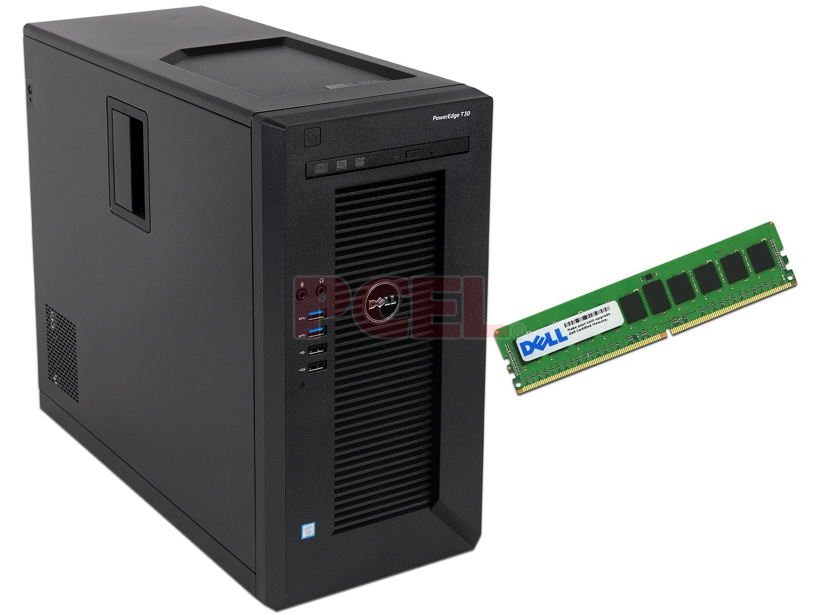 Servidor DELL PowerEdge T30: Procesador Intel Xeon E3-1225