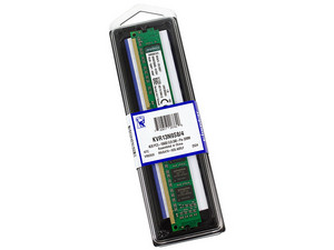 Memoria Kingston DDR3 PC3-10600 (1333 MHz) CL9, 4GB