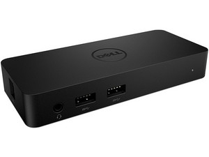 Estación de acoplamiento DELL 452-BBZI de video doble, USB 3.0.