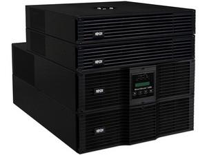 UPS SmartOnline de Doble Conversión, 208/120V 10kVA 9kW, 10U, Autonomía Extendida, Ranura para Tarjeta de Red, USB, DB9, Switch de Derivación, NEMA
