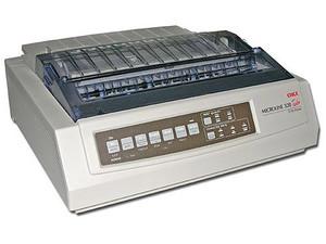 Impresora De Matriz De Puntos Okidata Ml320 Turbo De 9pin