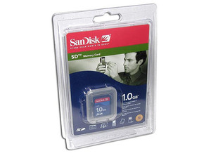 Memoria SanDisk de 1GB, Secure Digital (SD)