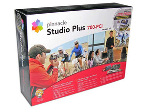Tarjeta de Captura Pinnacle Studio Plus 700-PCI para Video Camaras Digitales y Analógicas