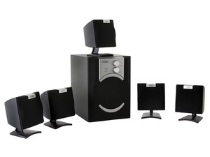 Bocinas Perfect Choice Home Theater 5.1 con 1200Watts PMPO