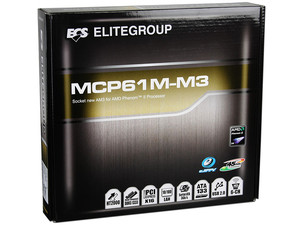 T. Madre ECS MCP61M-M3, ChipSet MCP61P,