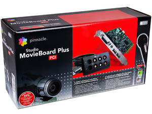capturadora de video pinnacle studio movieboard plus pci
