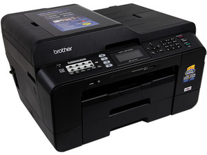 Multifuncional Brother MFC-J6710DW, Impresora Doble Carta, Copiadora, Escáner y Fax, hasta 35ppm, resolución max. 6000 x 1200dpi, Wireless (802.11b/g/n), Ethernet, USB.