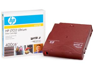 Cartucho de datos HP LTO2 Ultrium de 400GB