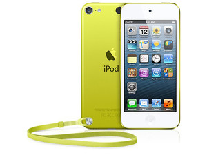 Nuevo iPod touch de 32 GB con Pantalla Retina y Grabación de video HD (5ª generación). Color Amarillo.
