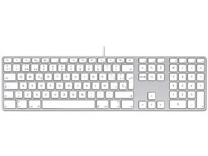 Teclado Apple Keyboard con teclado numérico. (versión en español)