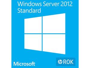 Windows Server Standard 2012 R2 en Español 64 Bits, Licencia OEM. Exclusivo a la venta en equipos nuevos HP.
