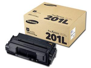 Cartucho de Tóner Samsung 201L Negro, Modelo: MLT-D201L.