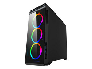 Gabinete Eagle Warrior Mirror Plus, ATX, (sin fuente de poder).