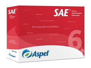 Sistema Administrativo Empresarial ASPEL SAE 6.0 (Actualización de paquete base, 1 usuario 99 empresas)