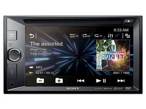 Autoestéreo Sony XAV-W600 con pantalla LCD táctil, USB y conector Auxiliar.