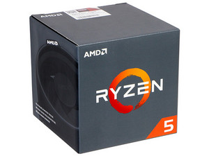 Procesador AMD Ryzen 5 1600, 3.2 GHz (hasta 3.6 GHz), Socket AM4, Six-Core, 65W.