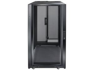 Gabinete para rack de servidor APC NetShelter SX, 24U. Color negro.