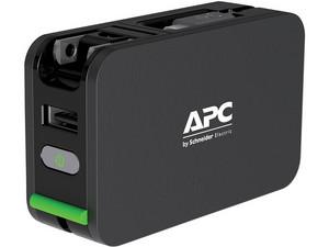 Batería Portátil recargable APC Mobile Power Pack M3PMBK de 3400 mAh. Color Negro.