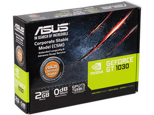 Tarjeta de Video NVIDIA GeForce GT 1030 ASUS, 2GB GDDR5, 1xHDMI, 1xDVI, PCI Express 3.0