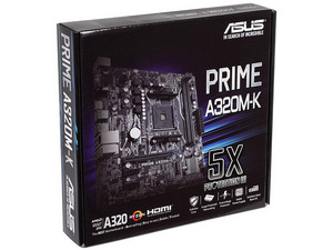 T. Madre Asus PRIME A320M-K, Chipset AMD A320,