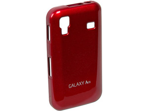 Cubierta Anymode para Samsung Galaxy Ace. Color Rojo brillante.