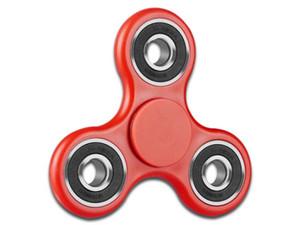 Fidget Spinner BRobotix de plástico. Color Rojo.