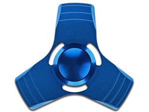 Fidget Spinner BRobotix. Color Azul Metálico.