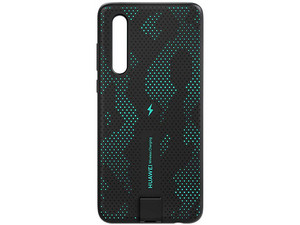 Funda Huawei de Carga Inalámbrica para Huawei P30. Color Negro/Verde.