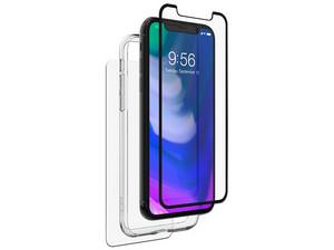 Carcasa protectora 360 ZAGG para iPhone X. Color transparente.