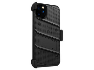 Funda ZIZO Bolt para iPhone 11 Pro Max, incluye protector de pantalla. Color Negro.