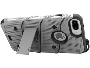 Funda Zizo Bolt para iPhone 7 plus/ 6s plus/ 6 plus. Gris/Negro.