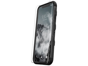 Cubierta protectora ZIZO Bolt para iPhone X. Color Negro.