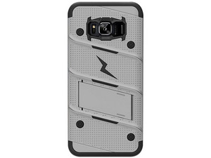 Funda ZIZO Bolt para SAMSUNG S8+ PLUS. Color Gris/Negro.