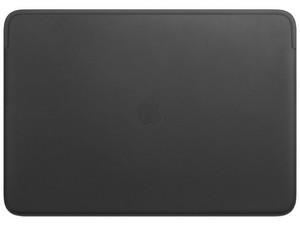 """Funda Protectora de piel para MacBook Pro de 16\"""". Color Negro."""