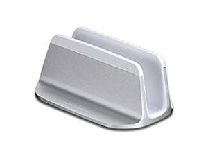 Just Mobile Alubase, soporte vertical para MacBook Pro, MacBook Pro Retina, MacBook Air. Color Plateado.