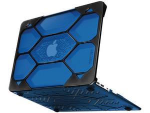 """Carcasa iBenzer HexPact para MacBook Air de 13\"""". Color Azul/Negro."""