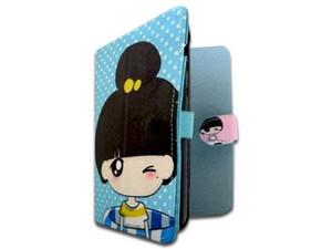 """Funda BRobotix para tabletas 7\"""", con diseño sencillo Candy Salvavidas. Color Azul."""