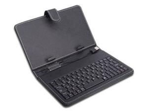 """Teclado Maletín para tablet 7\"""" USB Genérico. Color Negro."""