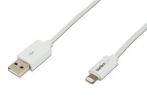 Cable StarTech de Lightning de 8 pin a USB para carga y sincronización, 2m.
