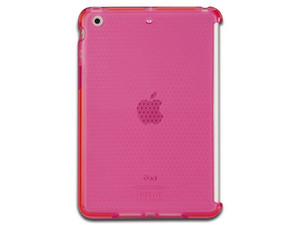 Case Tech21 Impact Mesh para ipad mini retina. Color Rosa