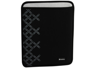 Funda Sleeve TechZone TZIPAD-01 para iPad color negra