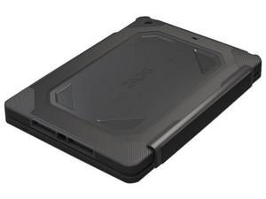 Funda y Teclado ZAGG Rugged Book para iPad, Bluetooth. Color Negro.