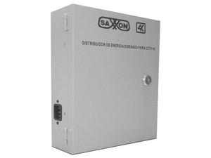 Fuente de poder Saxxon PSU1213D8H para cámaras de vigilancia, 8 cámaras, 15VCD/13A.
