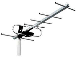 Antena exterior aérea Power&Co para alta definición de 6 elementos.