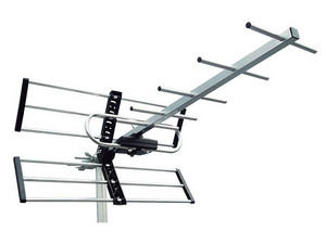 Antena aérea de alta definición Power&Co HD Air Power 1 para exterior de 10 elementos.