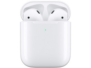 Audífonos Apple AirPods 2 con estuche de carga inalámbrica,  Bluetooth.
